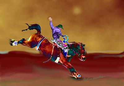 Western Art Digital Art - Down To Earth by Kae Cheatham