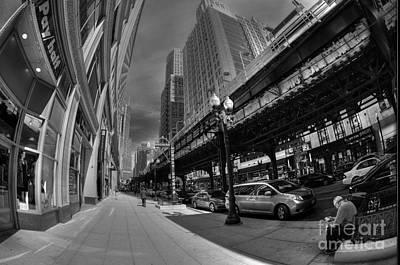 Photograph - Down Wabash Ave by David Bearden