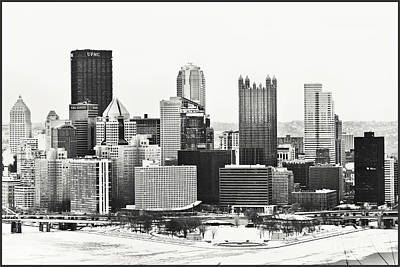 Photograph - Cold Winter Day In Pittsburgh Pennsylvania by Sharon Dominick