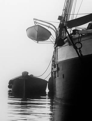 Photograph - Downeast Fog 2 by Fred LeBlanc