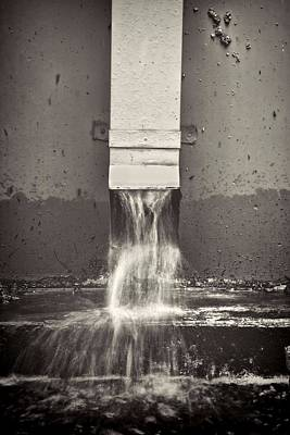 Drain Photograph - Downspout by Rudy Umans