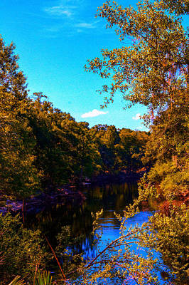 Photograph - Downstream Stephen Foster by Jeff Kurtz