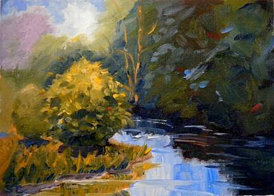 Painting - Downstream by Sharon Casavant