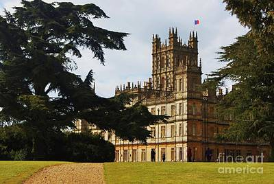 Downton Abbey 3 Art Print