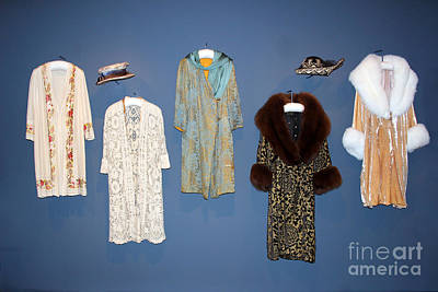 Photograph - Downton Abbey Clothes by Karen Adams