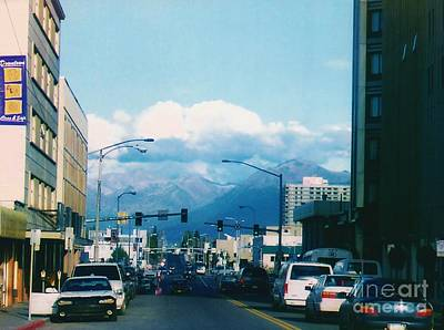 Photograph - Downtown Anchorage by D Hackett
