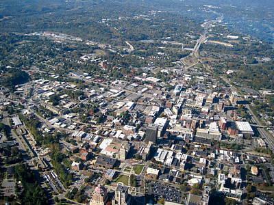 North Carolina Photograph - Downtown Asheville North Carolina by Phillip Israel
