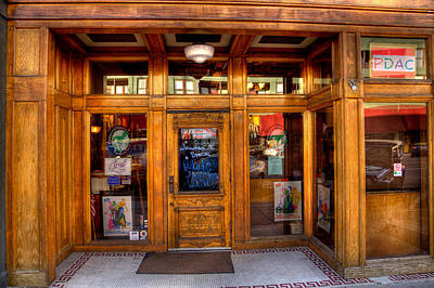 Photograph - Downtown Athletic Club - Prescott Arizona by David Patterson