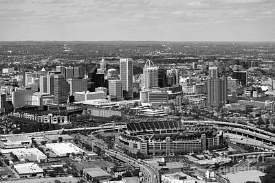 South Chesapeake City Photograph - Downtown Baltimore Maryland by Bill Cobb