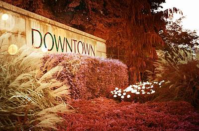 Photograph - Downtown by Bob Pardue