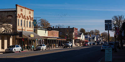 Photograph - Downtown Boerne by Ed Gleichman