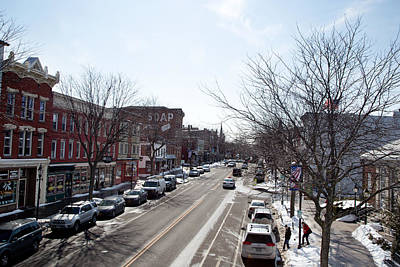 Photograph - Downtown Brockport IIi by Courtney Webster
