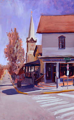 Painting - Downtown Cedarburg by Anthony Sell