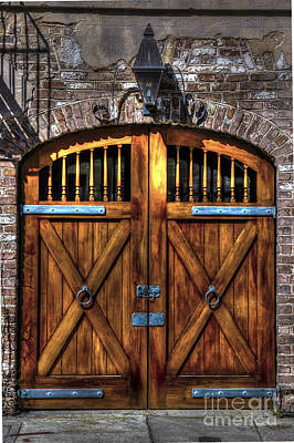 Photograph - Downtown Charleston Sc Doors by Dale Powell