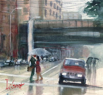 Painting - Downtown Dayton Love by Gregory DeGroat