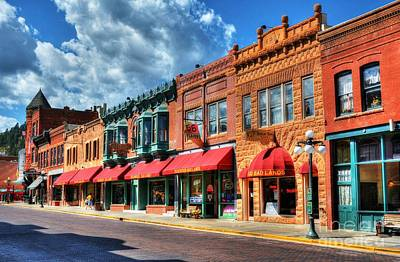 Photograph - Downtown Deadwood by Mel Steinhauer