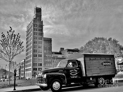 Photograph - Downtown Delivery by Hominy Valley Photography