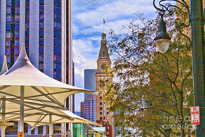 Photograph - Downtown Denver by Audreen Gieger