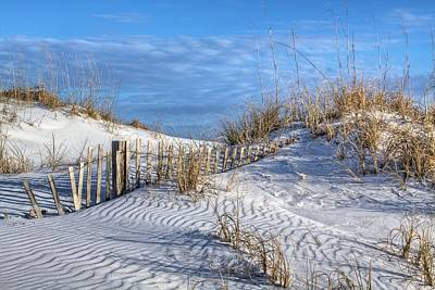 Sand Fences Photograph - Downtown Destin by JC Findley