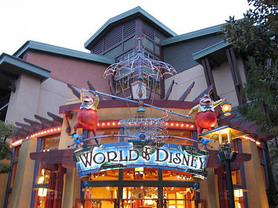 Downtown Disney Anaheim - 121210 Art Print