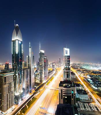 Emirates Photograph - Downtown Dubai by Matteo Colombo