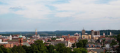 Art Print featuring the photograph Downtown Dubuque by Jane Melgaard
