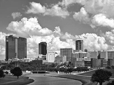 Photograph - Downtown Fort Worth by David and Carol Kelly