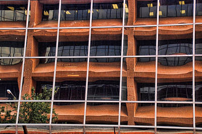 Photograph - Downtown Fort Worth Reflections by Janet Maloy