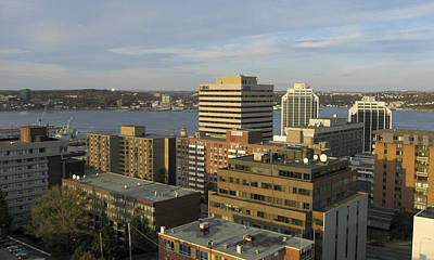 Photograph - Downtown Halifax, Nova Scotia by Rob Huntley