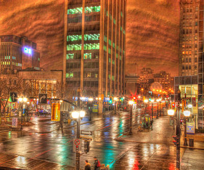 Craig Brown Photograph - Downtown Hamilton by Craig Brown