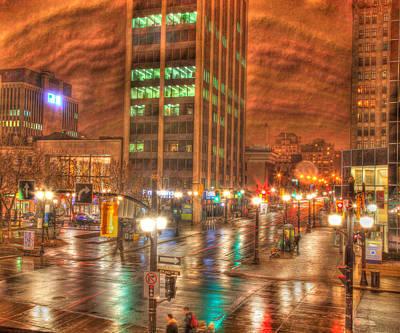 Craig Brown Photograph - Downtown Hamilton by Craig Brown
