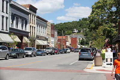 Photograph - Downtown Hannibal by Kathy Cornett
