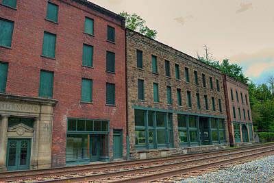 Photograph - Downtown Historic Thurmond West Virginia by Paulette B Wright