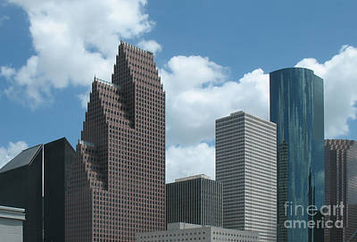 Photograph - Downtown Houston 2 by Connie Fox