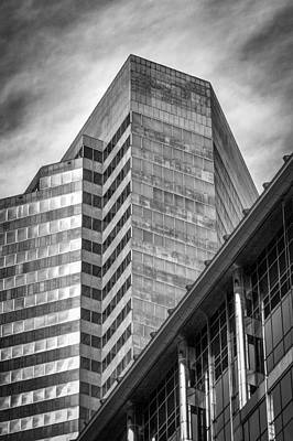 Photograph - Downtown Houston Architecture by James Woody