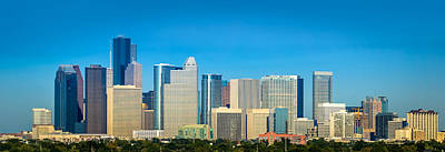 Photograph - Downtown Houston Daytime by David Morefield