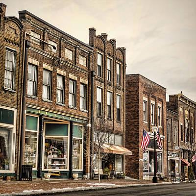 Photograph - Downtown Jonesborough by Heather Applegate
