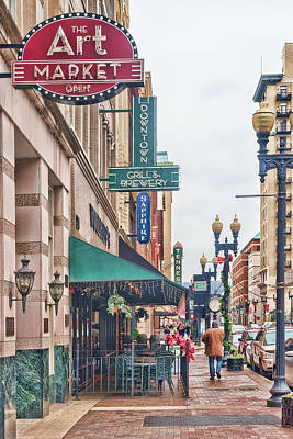 Downtown Knoxville Art Print
