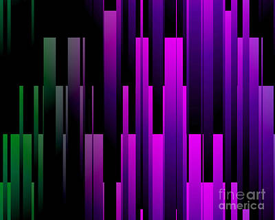 Digital Art - Downtown by Kristi Kruse