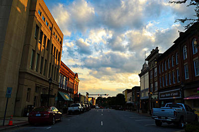 Photograph - Downtown Lenoir North Carolina by Amber Summerow