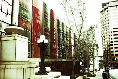 Photograph - Downtown Library by Martha Burton
