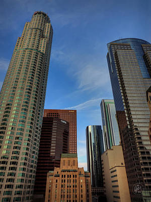 Photograph - Downtown Los Angeles 001 by Lance Vaughn