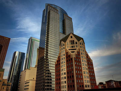Photograph - Downtown Los Angeles 002 by Lance Vaughn