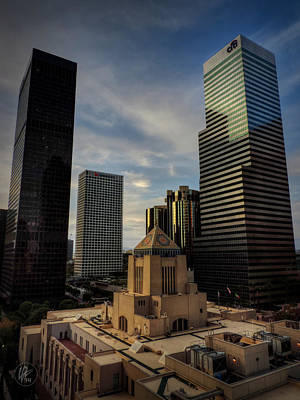 Downtown Los Angeles 004 Art Print by Lance Vaughn
