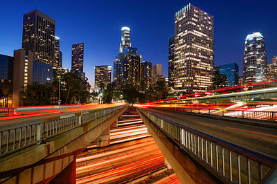 Photograph - Downtown Los Angeles by Celso Diniz