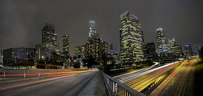 Photograph - Downtown Los Angeles by Jerome Obille