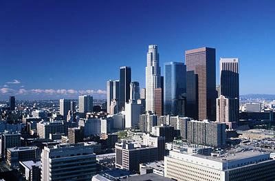 Downtown Los Angeles Viewed Art Print