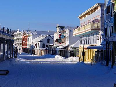 Photograph - Downtown Mackinac In The Early Morning by Keith Stokes