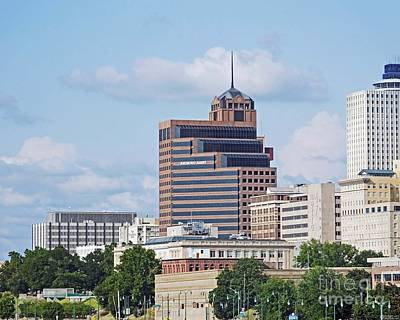 Photograph - Downtown Memphis Raymond James by Lizi Beard-Ward