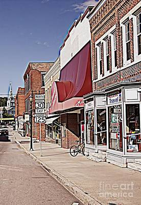 Middlebury Photograph - Downtown Middlebury Vt. by Beth Phifer